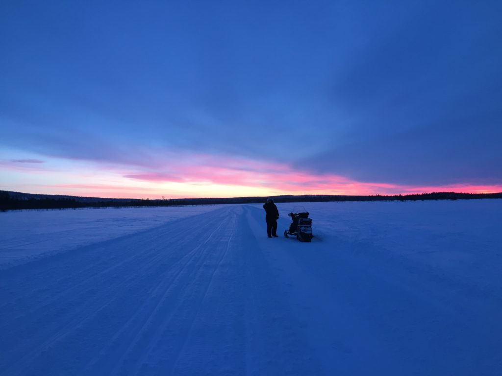 ski-doo, snowmobile, lapland, Levi, Finland, snow, winter