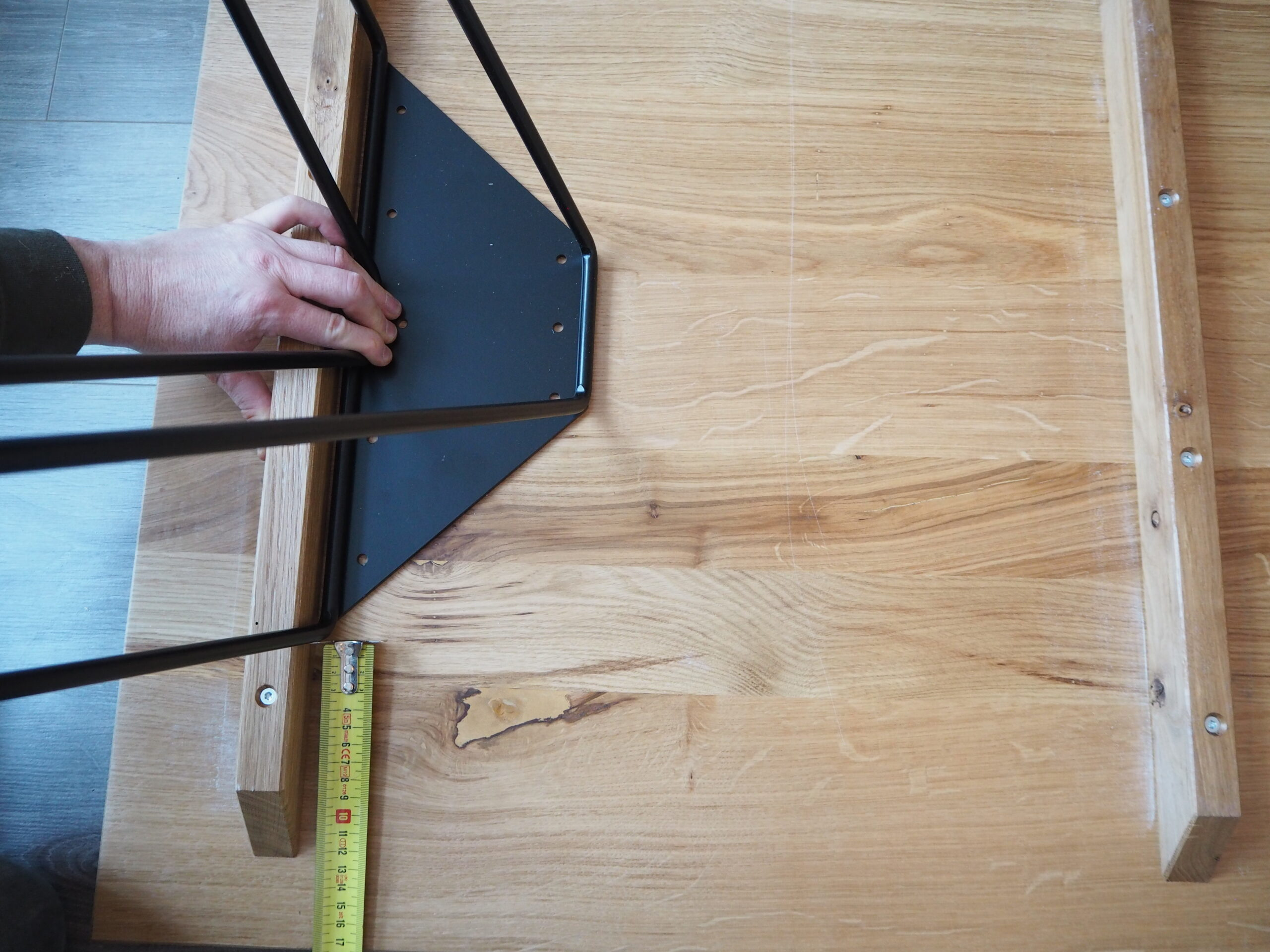 Measuring a table